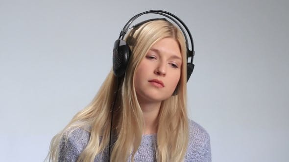 Thumbnail for Young Woman Listening To Melancholic Music