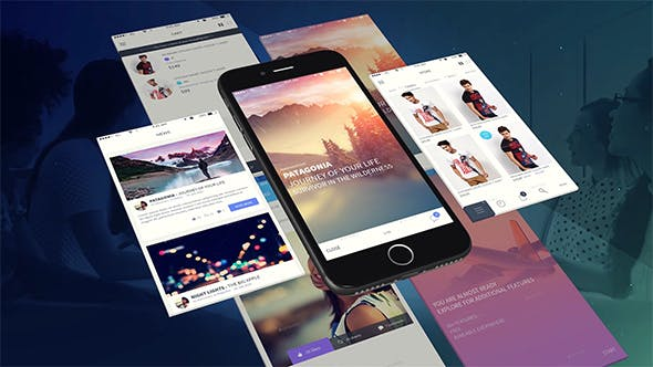 Thumbnail for Phone App Presentation Template
