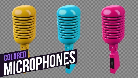 Thumbnail for Colored Microphones