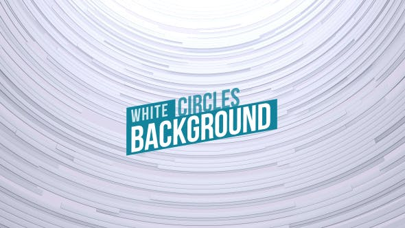 Thumbnail for Clean White Circles Background