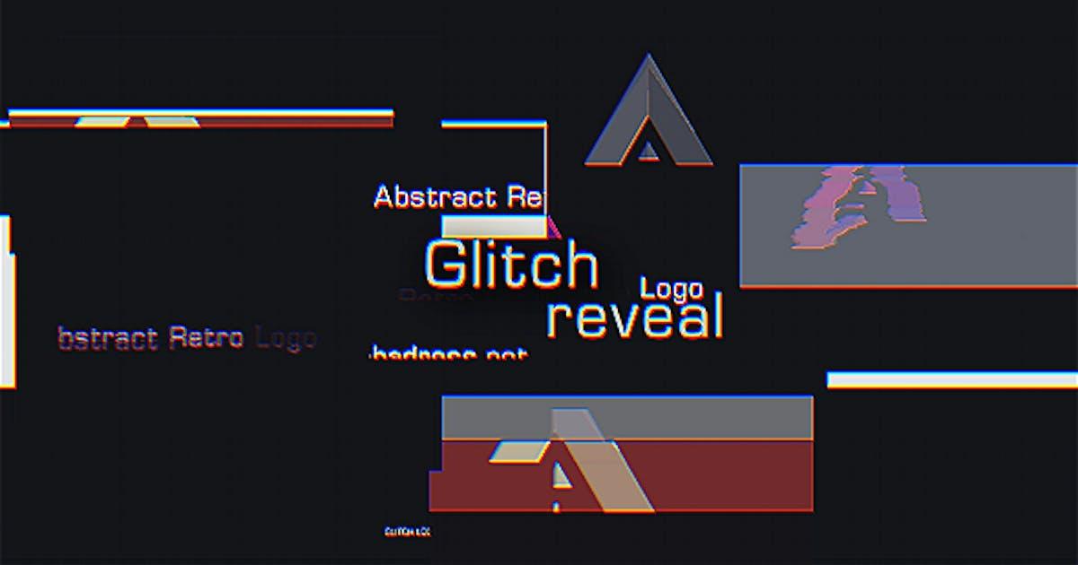 Download Glitch Logo Reveal by xFxDesigns