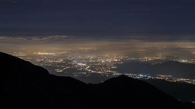 Above City Night