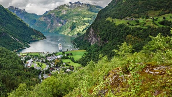 Cover Image for , Geiranger Fjord, Norway