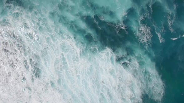 Thumbnail for Flying Over Shallow and Deep Water of the Ocean