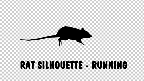 Thumbnail for Rat Silhouette - Running