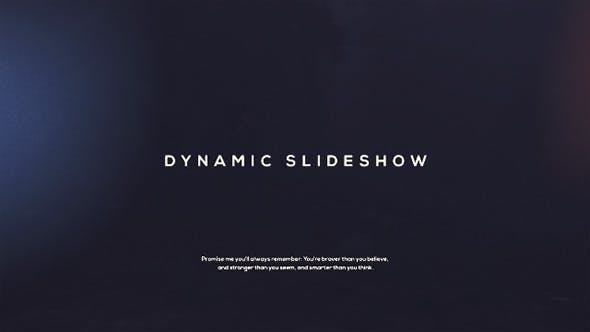 Thumbnail for Dynamic Slideshow