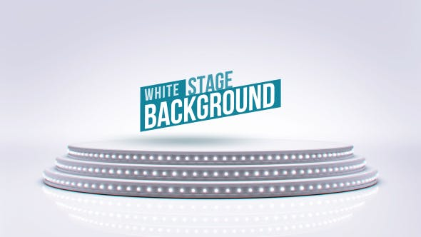 Thumbnail for Clean White Stage Background