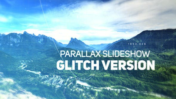 Cover Image for Inspired Parallax Slideshow || Glitch