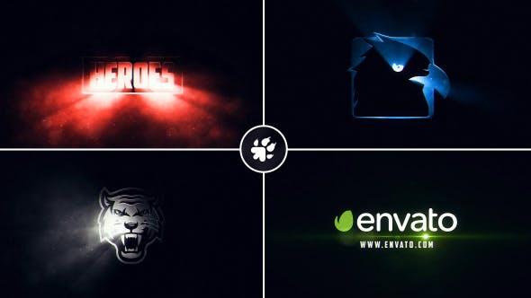 Thumbnail for Logo des rayons lumineux Cinématographique ographiques