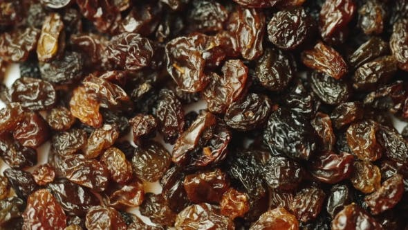 Thumbnail for Many Raisins Rotates. Sweet Food