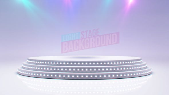 Thumbnail for White Stage And Spot Lights