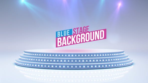 Thumbnail for Blue Stage And Spot Lights