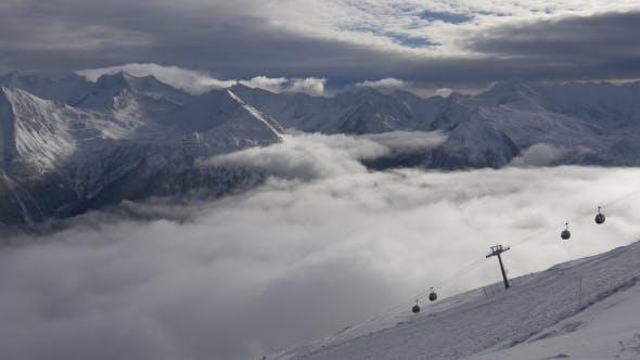 Thumbnail for Ski Resort in the Alps