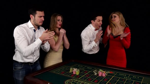 Thumbnail for Company of Young People Playing Roulette