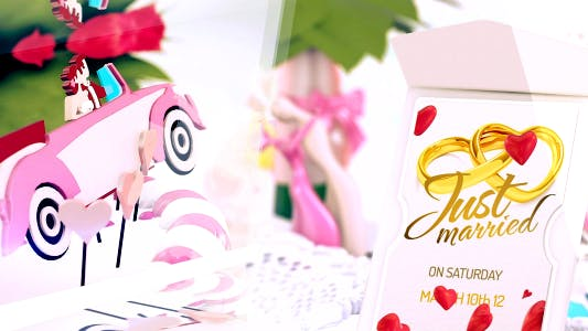Thumbnail for Wedding Love Card Intro