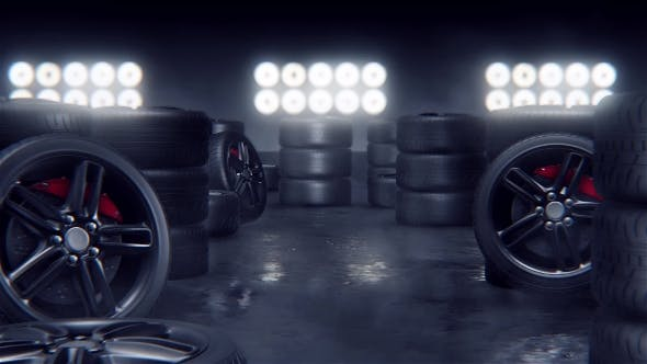 Thumbnail for Sport Tires on a Race Track