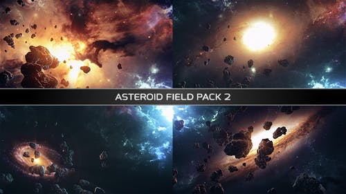 Asteroid Field Pack 2