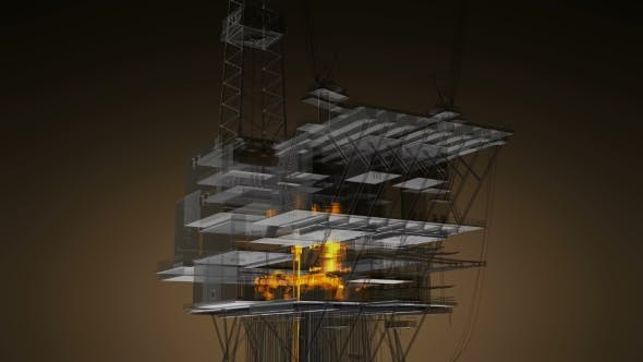 Thumbnail for Loop Rotate Oil and Gas CentralPprocessing Platform