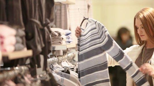 Thumbnail for Girl Choosing Pullover