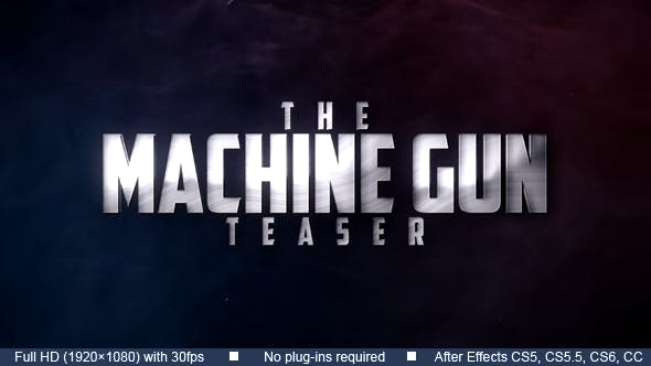 Thumbnail for Machine Gun Teaser