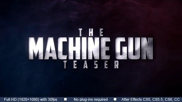 Maschinengewehr Teaser
