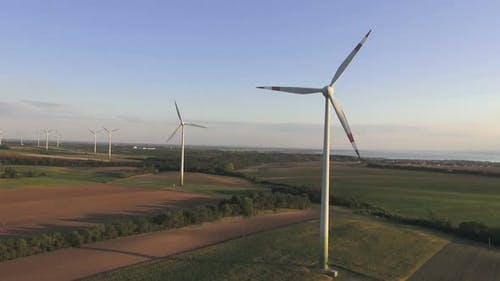 Aerial View of Windpark