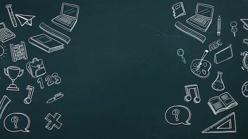 Digital erzeugtes Video von Bildung