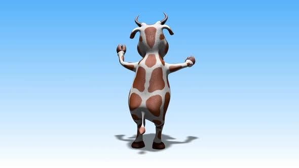 Fun Cow - Cartoon Dance 2