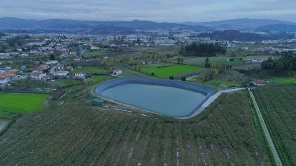 Thumbnail for Artificial Lake for Irrigation Farm
