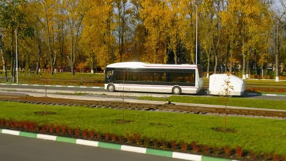 Thumbnail for Electric Bus on the Test Road