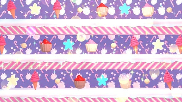Thumbnail for Retro Candy Background