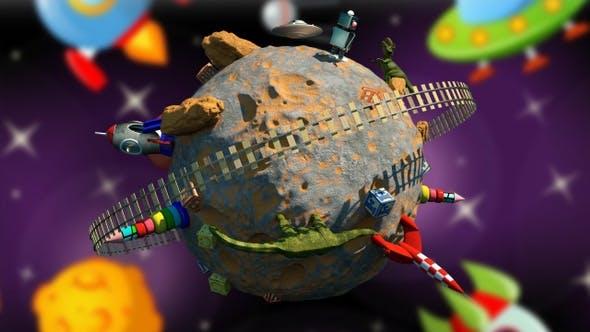 Thumbnail for Children Planet 2 Video 4K