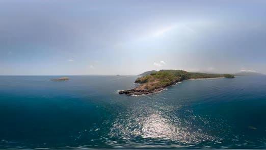 Thumbnail for Kleine Insel im Ozean Vr360