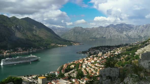 Thumbnail for Mountainous Bay of Kotor Time Lapse in Montenegro