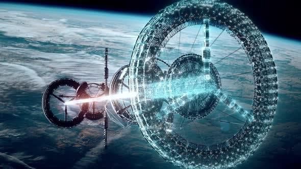 Space Station 4k