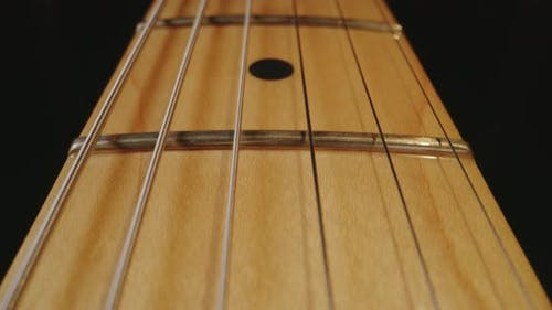 Neck of an Electric Guitar
