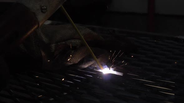Welding Metal Grid