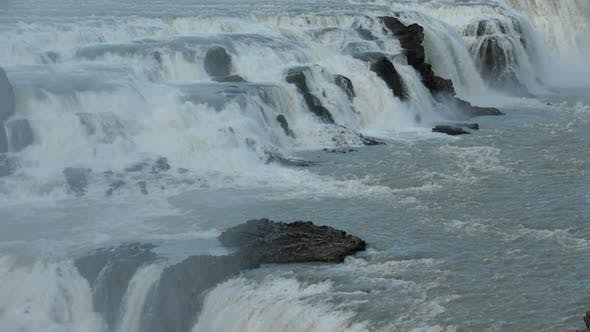 Thumbnail for Mountain Waterfall in Iceland.