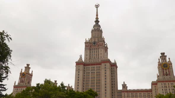 Thumbnail for The Building of Moscow State University