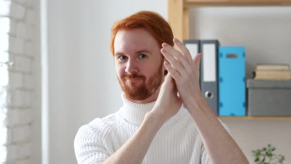 Thumbnail for Applause, Clapping Man with Red Hairs