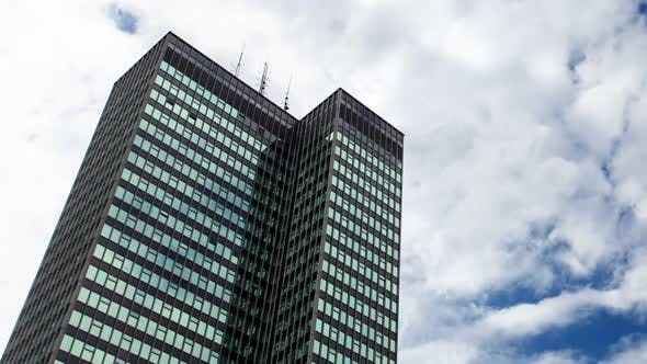 Thumbnail for euston london skyscraper clouds building city urban