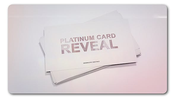 Thumbnail for Platinum Card Reveal