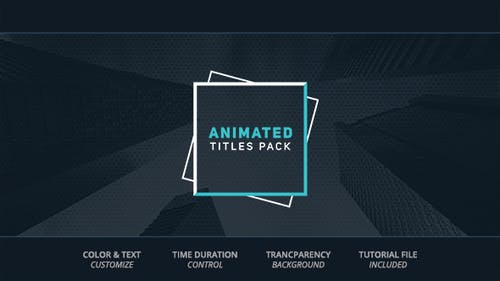 Animated Titles
