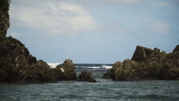 Thumbnail for Surfers on the waves.Catanduanes, Philippines.