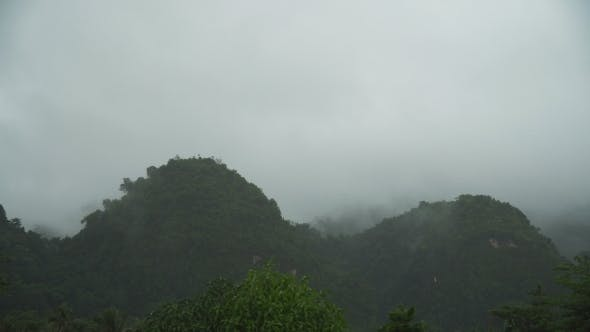 Thumbnail for Fog in the Mountains.