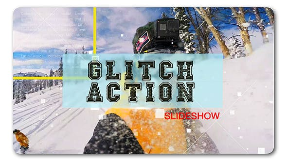 Thumbnail for Glitch Action Slideshow