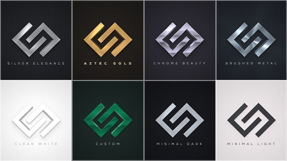 Thumbnail for Elegant Logo Reveals Pack