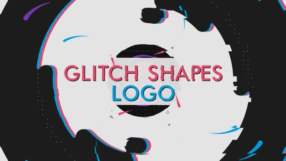 Cover Image for Glitch Shapes Logo