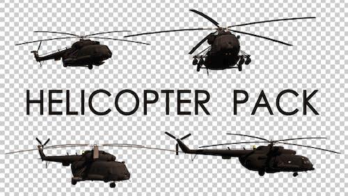 Militärhubschrauber Pack