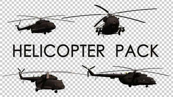 Military Helicopter Pack